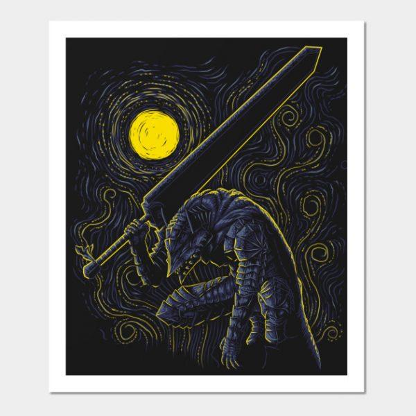 Post Impressionist Swordsman
