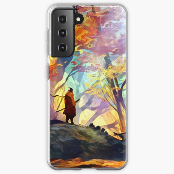 A Wolf in the Colorful Forest Samsung Galaxy Soft Case RB1506 product Offical Berserk Merch