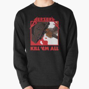 Berserk Metal Pullover Sweatshirt RB1506 product Offical Berserk Merch
