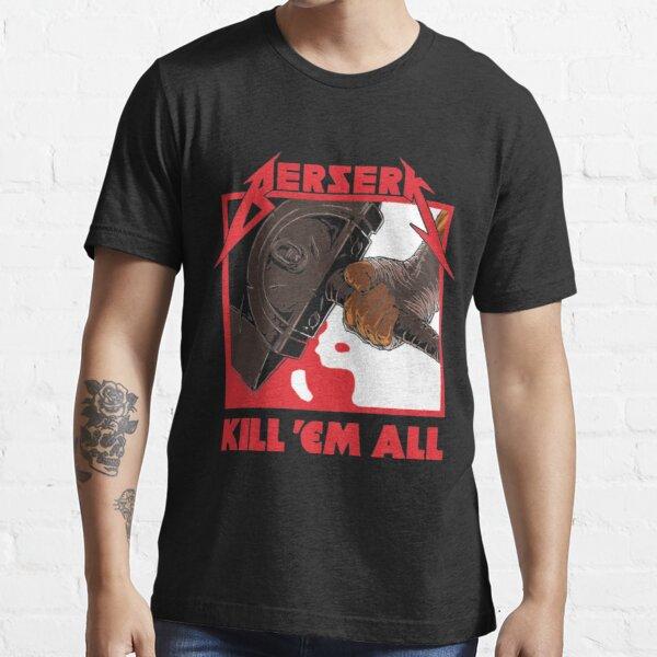 Berserk Metal Essential T-Shirt RB1506 product Offical Berserk Merch