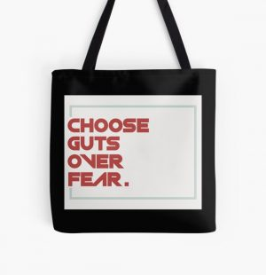 choose guts over fear All Over Print Tote Bag RB1506 product Offical Berserk Merch
