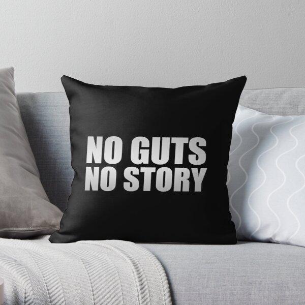 No guts, no story Throw Pillow RB1506 product Offical Berserk Merch