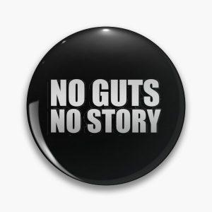 No guts, no story Pin RB1506 product Offical Berserk Merch