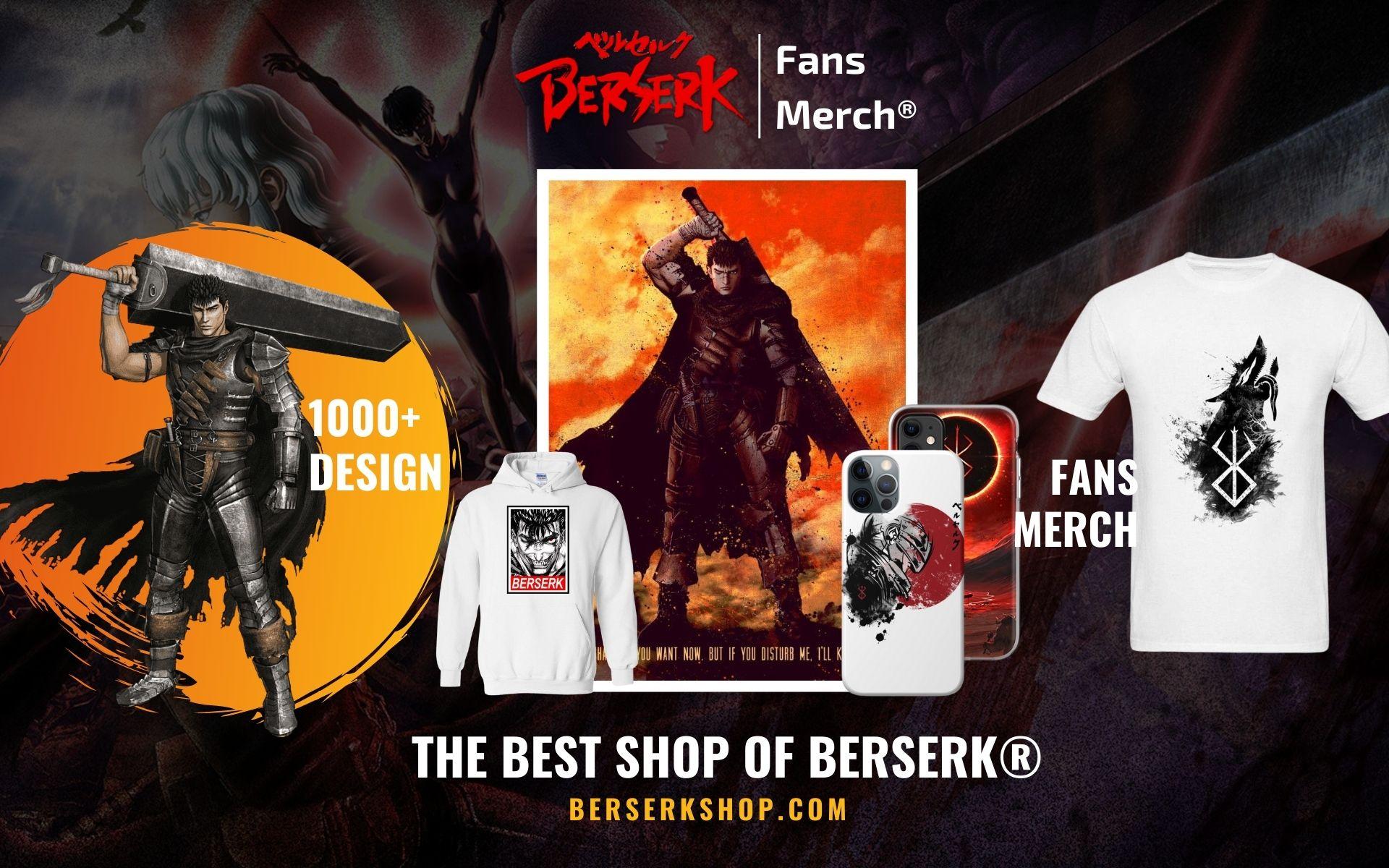 Berserk Merch Web Banner - Berserk Shop